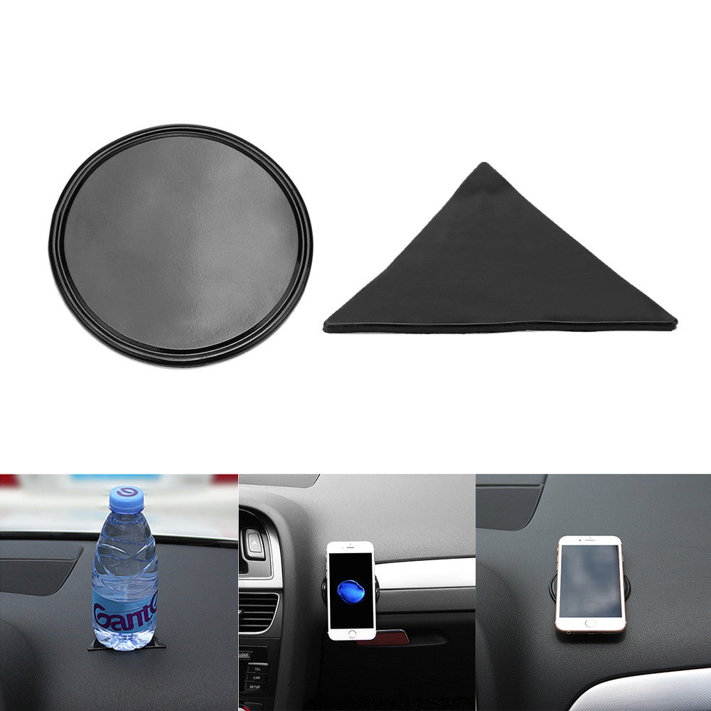 Mini Anti-Slip Car Pad Dashboard Mat Sticky Gel Pad Non-Slip Mounting Pad for Phone Sunglasses Keys Coins - VMC Creative Designs