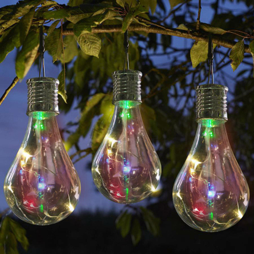 Solar Light Bulb Waterproof Solar Rotatable  Hanging LED Light - VMC Creative Designs