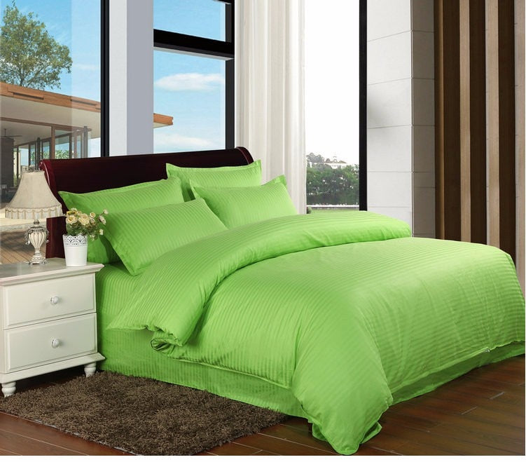 100% Cotton Hotel Luxury Satin Bedding Set