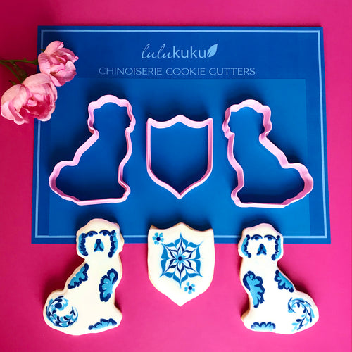Staffordshire Dog Outline Cookie Cutters