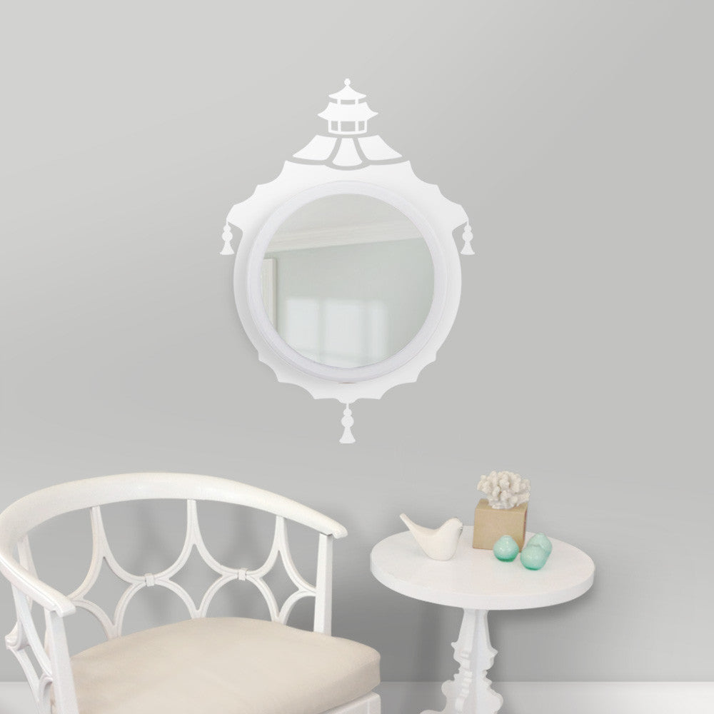 Chinoiserie Mirror Entryway