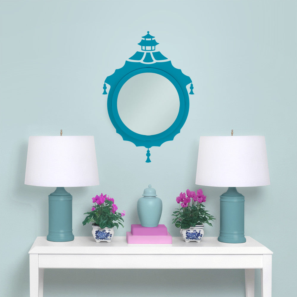 Chinoiserie Mirror Decal Set