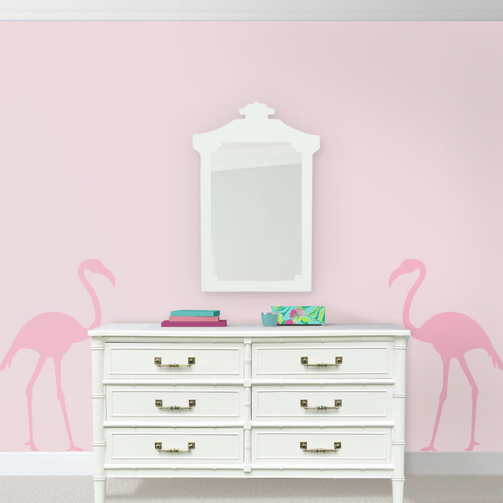 Flamingo Pink Palm Beach Bedroom Henry Link