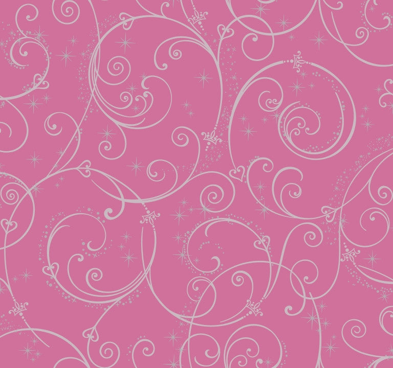 castle border design ds7863 perfect princess scroll wallpaper with glitter the wall shop