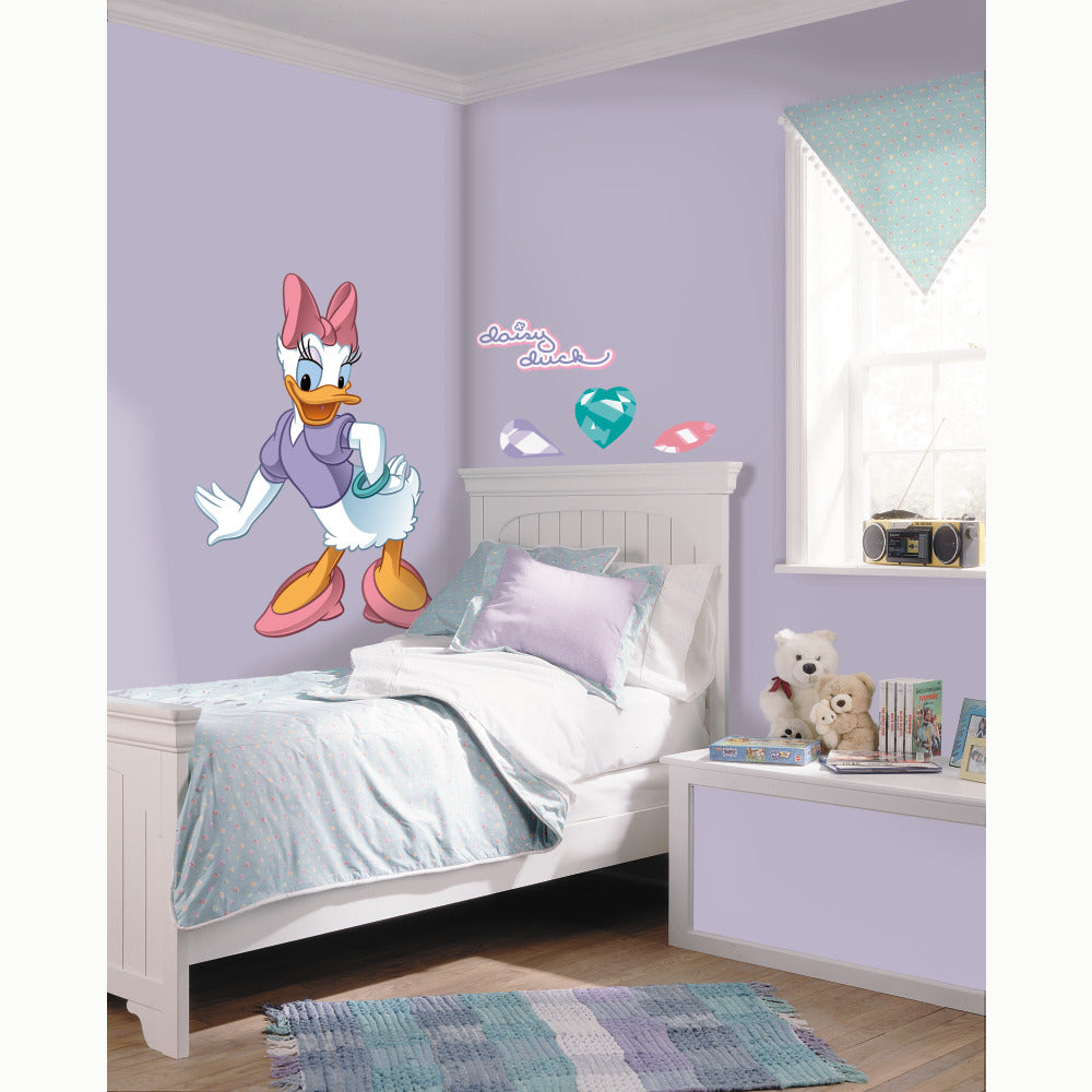 Rmk1513gm daisy duck giant wall decal the wall shop rmk1513gm white wall stickers wall decor wall decals self adhesive roommates room decor repositionable removable amipublicfo Choice Image