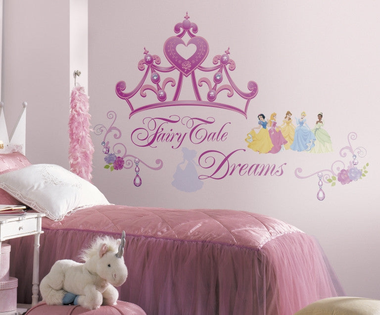 RMK1580GM Pink Wall Stickers Wall Decor Wall Decals Self Adhesive RoomMates  Room Decor Repositionable Removable