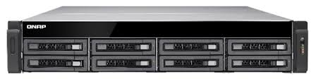 BUNDLE QNAP TS-EC880U-4G-R2, 8 BAY RACK NAS + SEAGATE ENT 8 X 6TB(ST6000NM0115) HDD + RAIL
