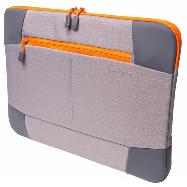 "TARGUS TSS87808AU, 14"" BEX II SLEEVE - GREY/ORANGE"