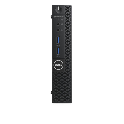 DELL OPTIPLEX 3050 MFF, i5-7500T, 4GB, 128GB SSD, NO-ODD, WL, W10P, 3YOS