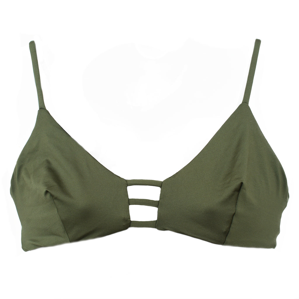 KAUI MILITARY GREEN (SUTIÃ/TOP)