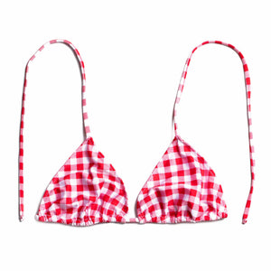 SLICE RED GINGHAM (SUTIÃ/TOP)