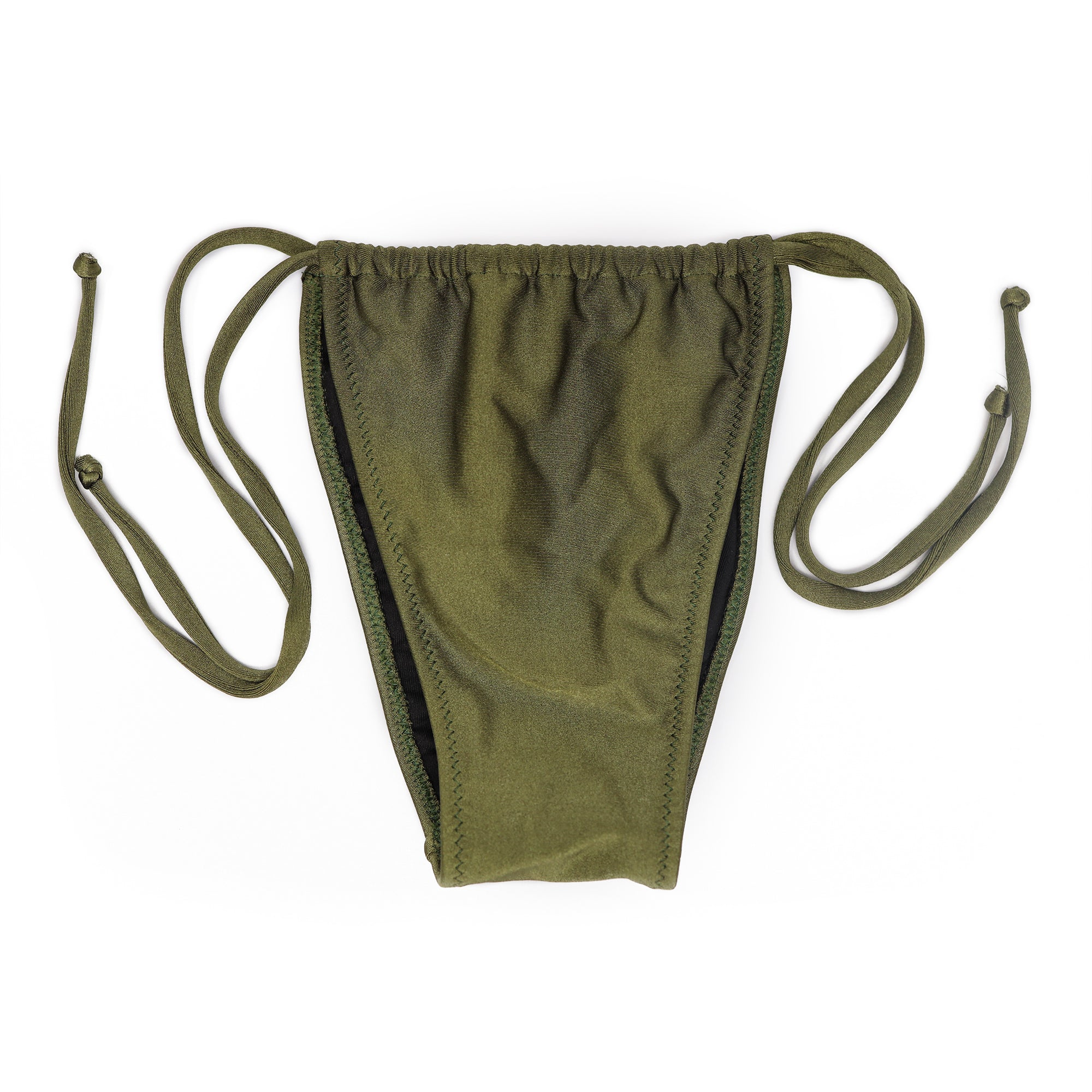 TINY CORTININHA OLIVE GREEN (CALCINHA/BOTTOM)