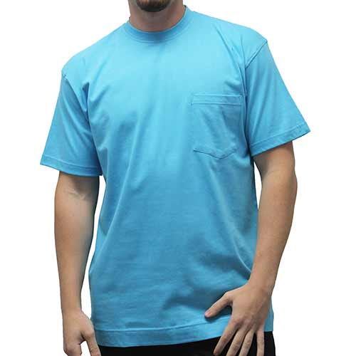 Men's Pocket Crew Neck Tee - 1100