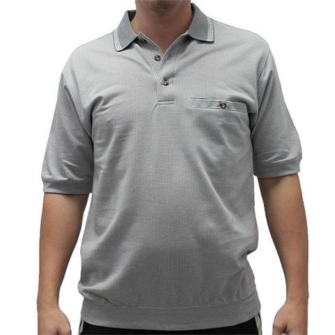 Safe Harbor Allover Banded Bottom Shirt - 112008 - bandedbottom