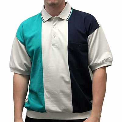 Safe Harbor Allover Banded Bottom Shirt - 112161 - theflagshirt