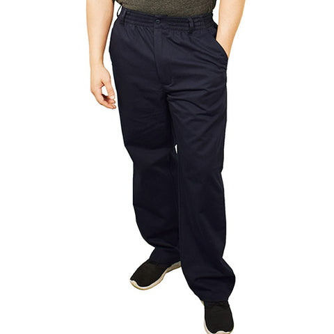 LD Sport Full Elastic Casual Pants - 541032 - bandedbottom