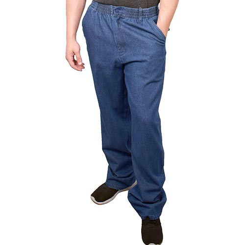 LD Sport Full Elastic Denim Pants - 541130 - theflagshirt