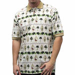 Load image into Gallery viewer, Palmland Club Men's Hawaiian Shirt - 6065-104 Natural - theflagshirt