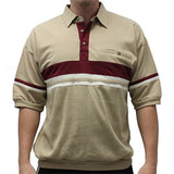 Classics by Palmland French Terry Banded Bottom Shirt - 6090-622J Taupe - theflagshirt