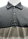 Classics by Palmland Knit Banded Bottom Shirt 6090-646T Mocha - theflagshirt