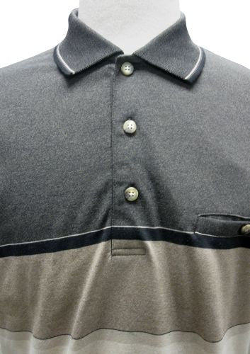 Classics by Palmland Knit Banded Bottom Shirt Mocha - theflagshirt