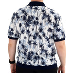 Load image into Gallery viewer, Classics by Palmland Short Sleeve Polo Shirt Big and Tall - Navy - 6190-325 - theflagshirt