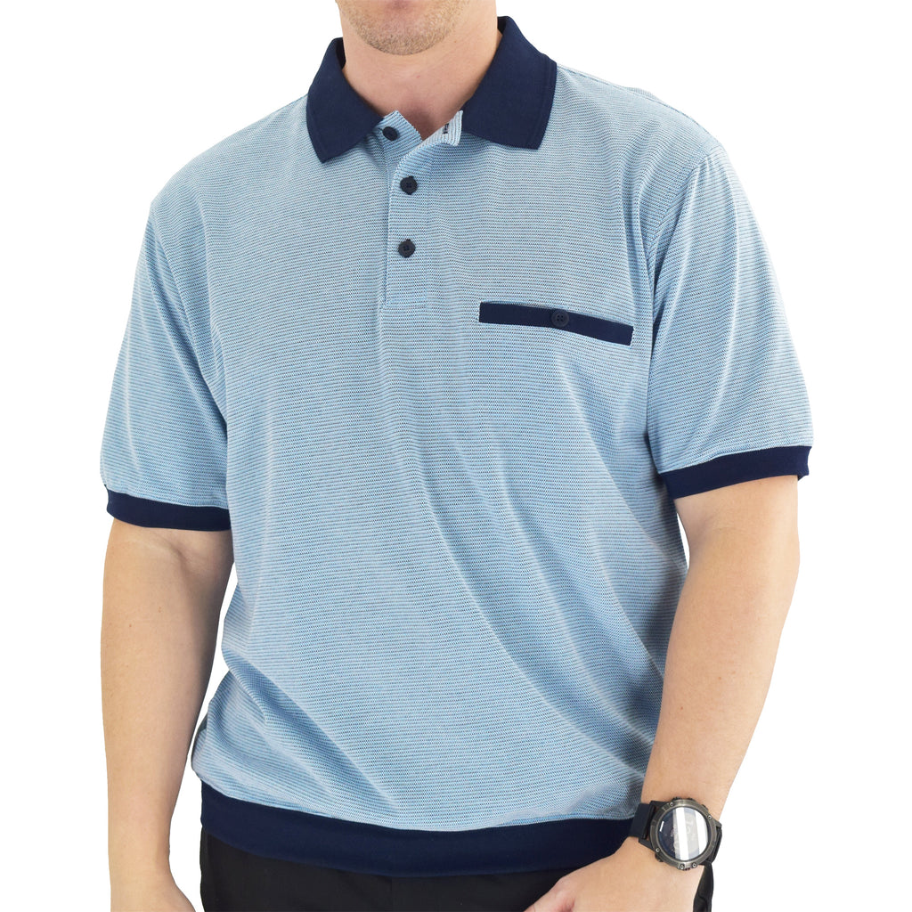 Classics by Palmland Short Sleeve Polo Shirt - White - 6191-415 - theflagshirt
