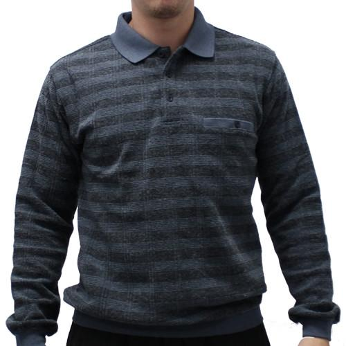 Safe Harbor Allover Long Sleeve Banded Bottom Shirt - 6198-104 Big and Tall