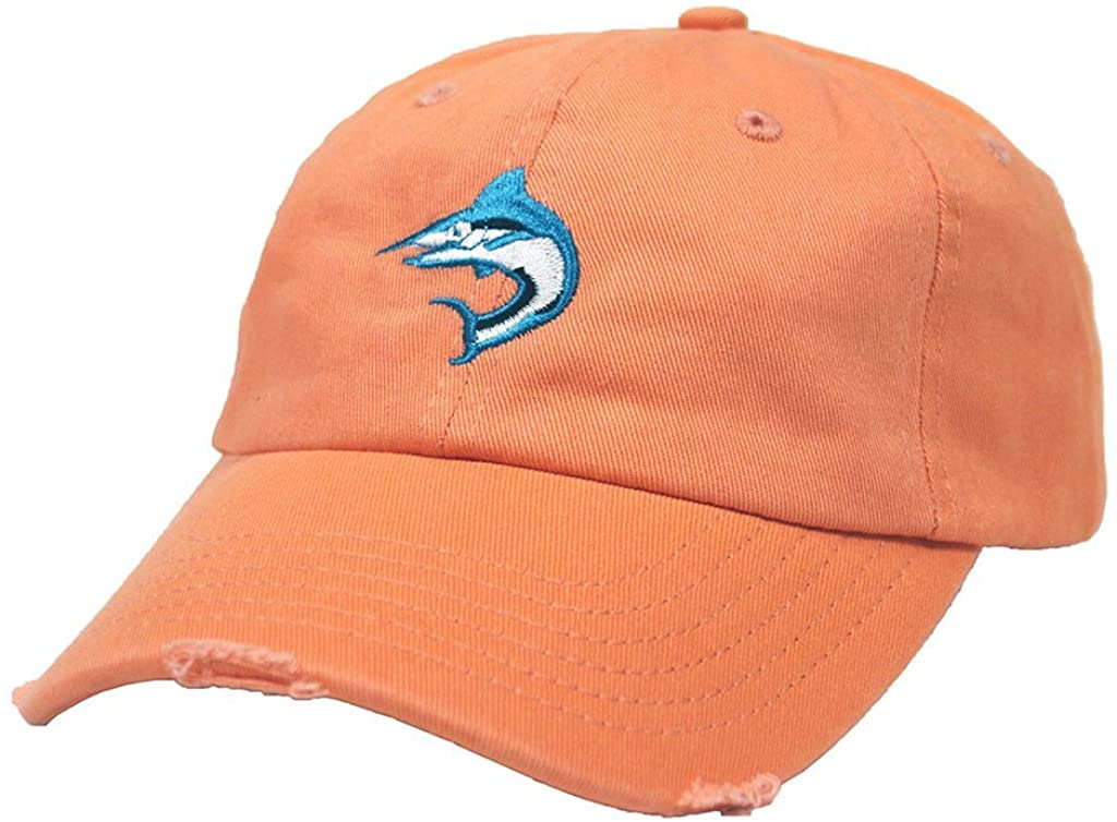 Biscayne Bay Tattered Hat Mango - banded bottom