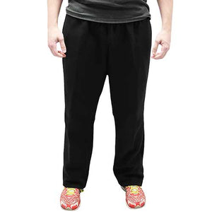 Full Elastic Pull on Fleece Pant - 6400-453BT Black - Big and Tall - theflagshirt