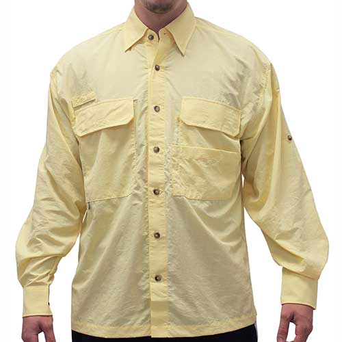 Biscayne Bay Long Sleeve Fishing Shirts - 7200-300 Sunny - theflagshirt