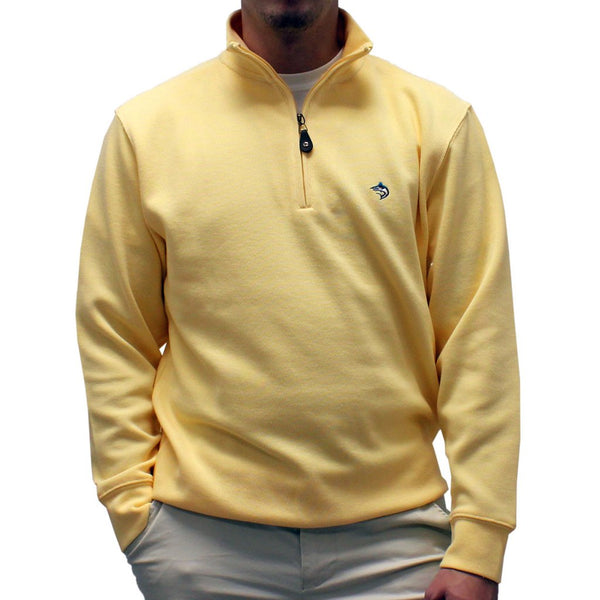 Biscayne Bay L/S Solid Rib Knit Sweater Big and Tall - Banana 7200-605BT - bandedbottom