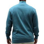 Load image into Gallery viewer, Biscayne Bay L/S Solid Rib Knit Sweater Big and Tall -Teal -7200-605BT - theflagshirt