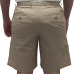 Load image into Gallery viewer, Biscayne Bay Washed Relaxed Fit Twill Shorts Khaki - banded bottom