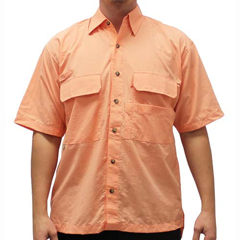 Biscayne Bay Short Sleeve Fishing Shirts - 7200-450 - bandedbottom