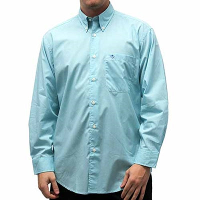 Biscayne Bay Long Sleeve Check Shirt - 7200-51 Foam - theflagshirt