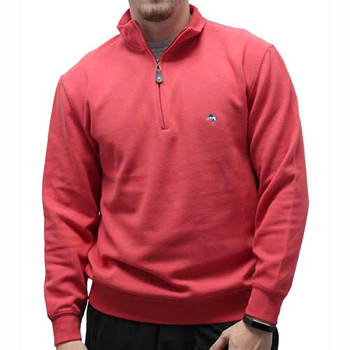 Biscayne Bay L/S Solid Rib Knit Sweater - Guava 7200-605 - theflagshirt