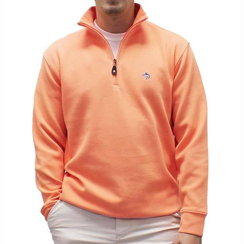 Biscayne Bay L/S Solid Rib Knit Sweater Big and Tall - Mango 7200-605BT - theflagshirt