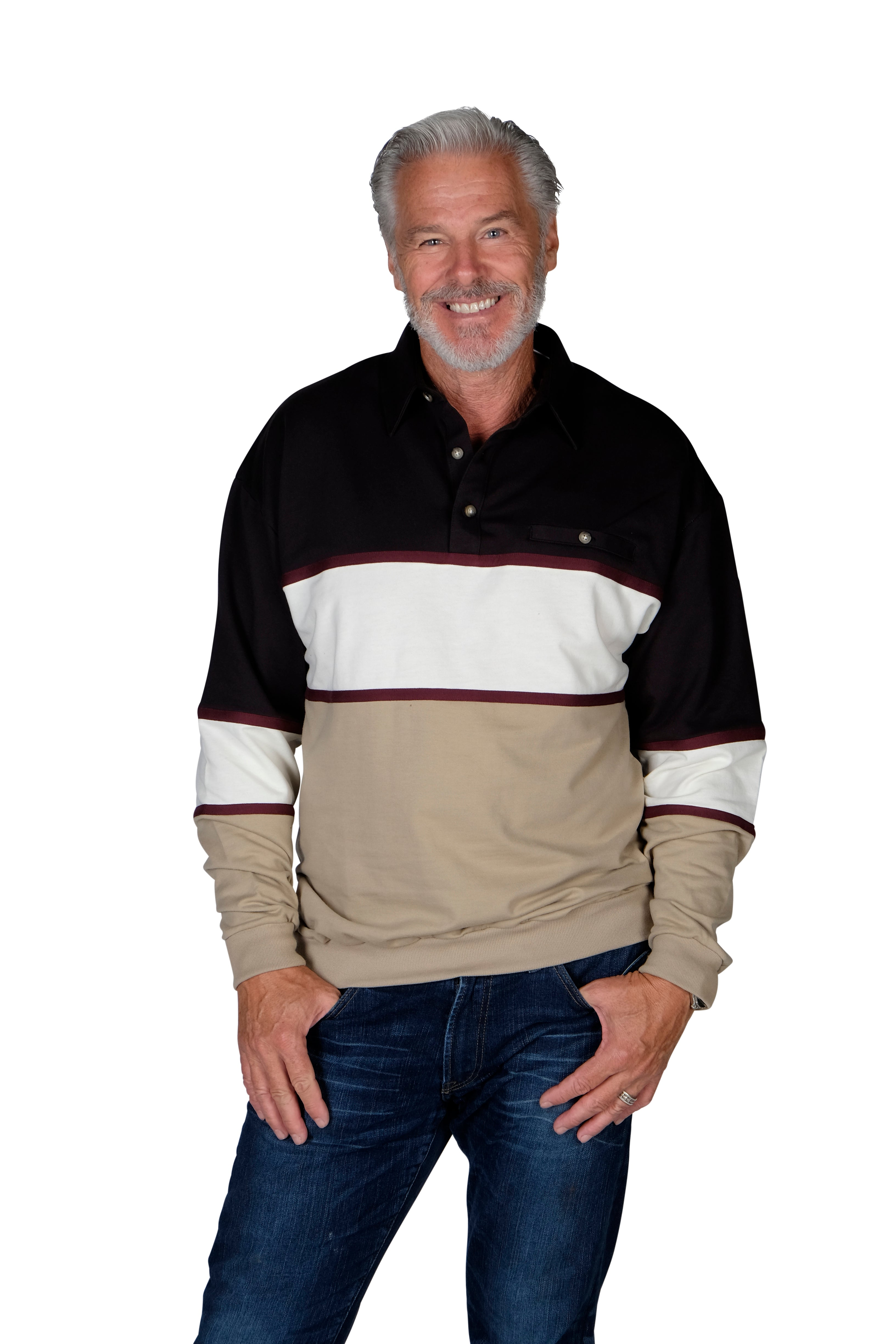 6094-728 Striped Bundle - 3 Shirts Bundled - theflagshirt