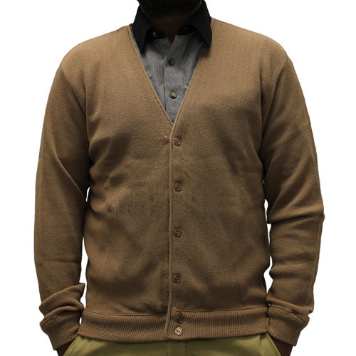Men's L/S Links Cardigan Sweater 4000-37