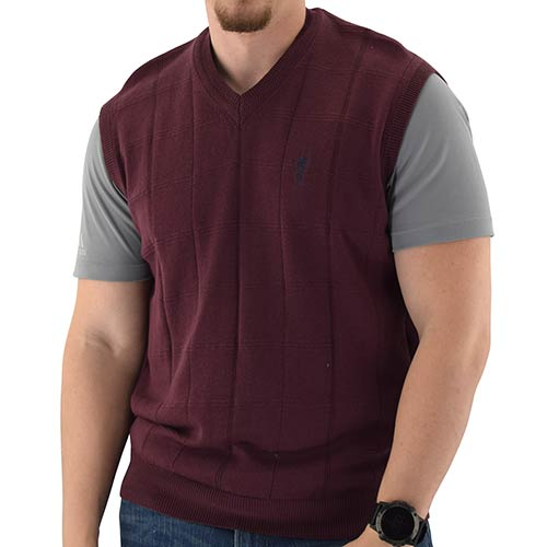 Men's Pullover Vest with embroidery SM103-BB - theflagshirt