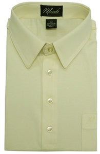 Merola Short Sleeve Pocket Polo Shirt - Cream - theflagshirt