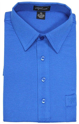 Merola Short Sleeve Pocket Polo Shirt - Royal - theflagshirt