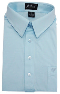 Merola Short Sleeve Pocket Polo Shirt - Sky Blue - theflagshirt