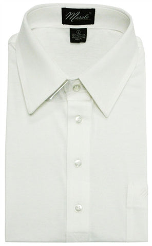 Merola Short Sleeve Pocket Polo Shirt - White - theflagshirt
