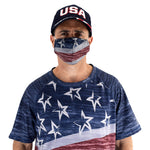 Load image into Gallery viewer, Patriotic Face Covering made in the usa - the flag shirt