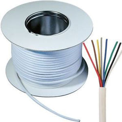8 core alarm cable - white 100m
