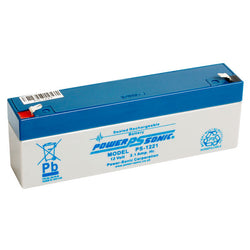Powersonic 12v 2.1ah alarm battery