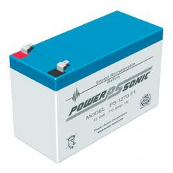 Powersonic 12v 7ah alarm battery