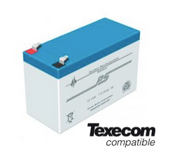 Texecom 12V 7ah alarm battery